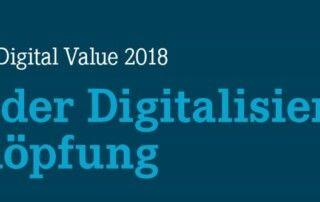 Logo Digital Value 2018 – der Beitrag der Digitalisierung zur Wertschöpfung