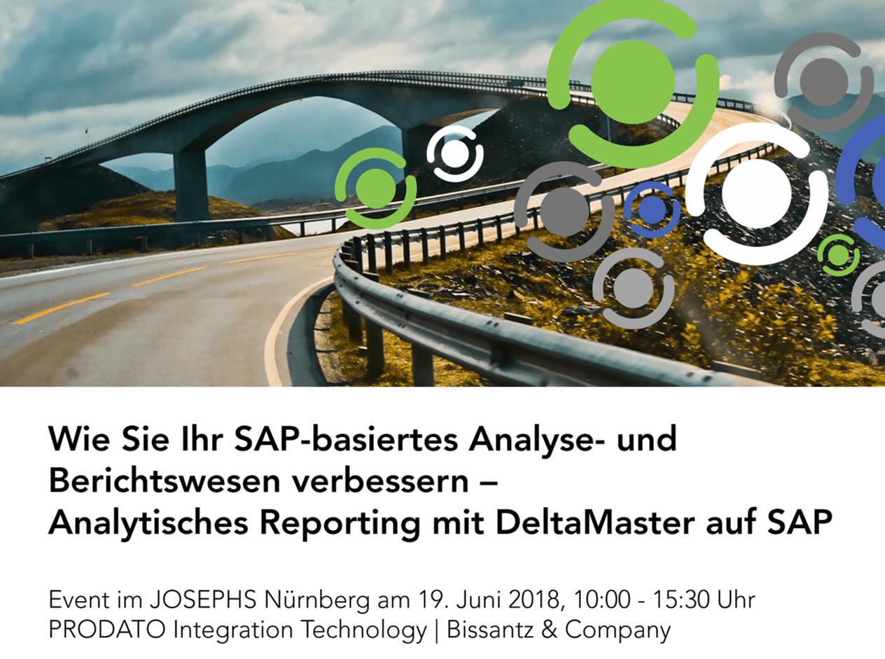 Wie Sie Ihr SAP-basiertes Analyse- und Berichtswesen verbessern – Event am 19.06.2018