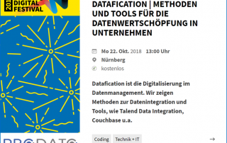 Datafication - Event am 22.10.2018 - Nürnberg Digital Festival