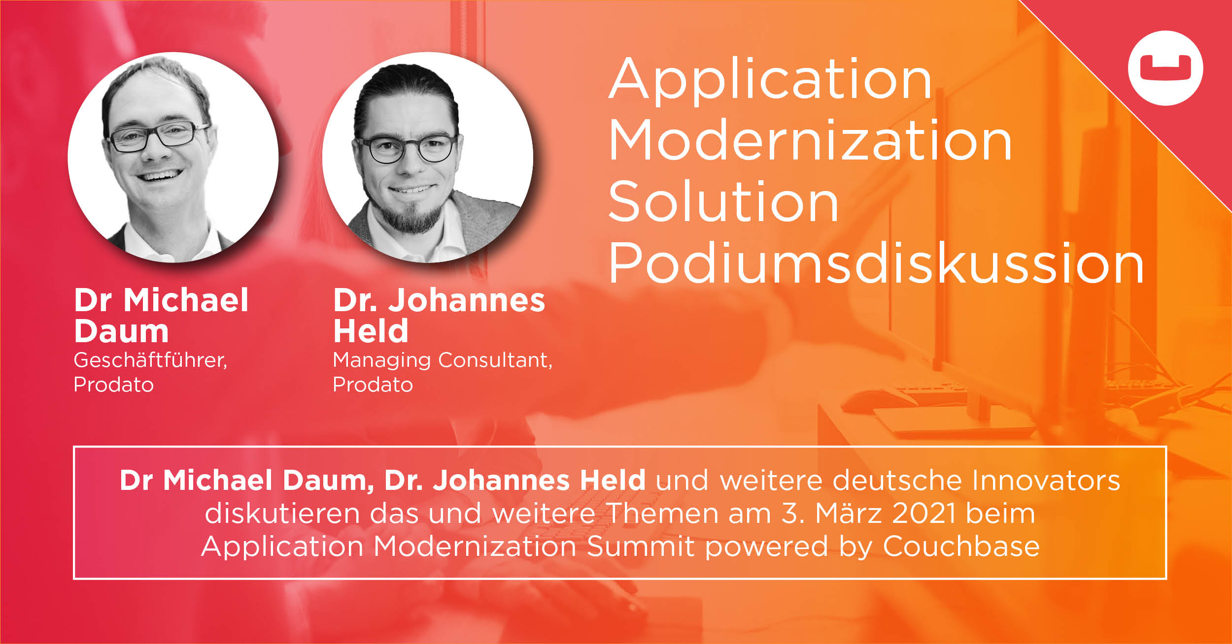 Application Modernization Summit Couchbase PRODATO